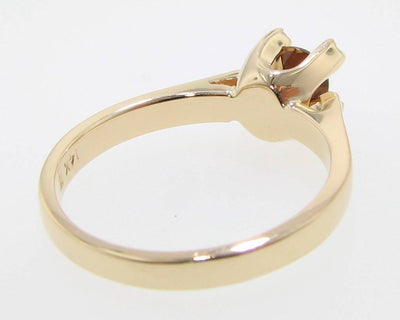 Chrysoberyl Yellow Gold Ring