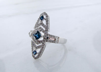 antique-style-vintage-diamond-blue-sapphire-ring-wexford-jewelers