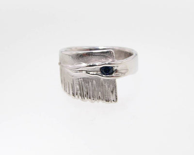 Sapphire Silver Ring, Sequoia