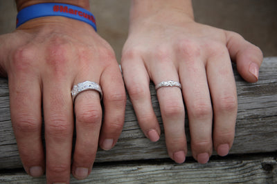 his-her-silver-octopus-rings-wedding-bands-wexford-jewelers