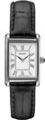 SEIKO Women's Leather Square Face Watch