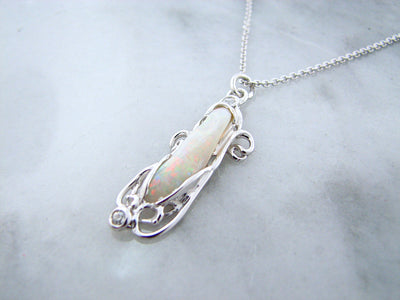 silver-opal-necklace-diamond-accent-wexford-jewelers