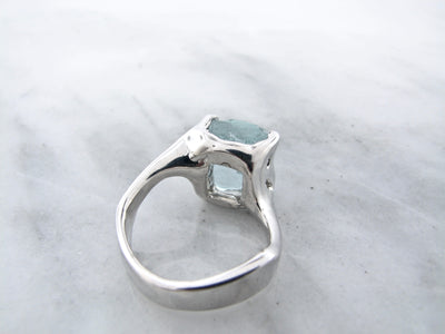 rustic-silver-raw-aquamarine-ring-wexford-jewelers