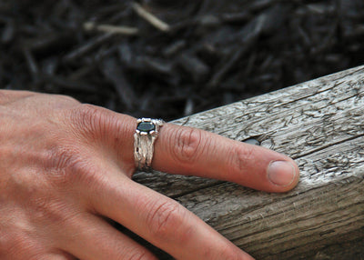 silver-wood-grained-ring-wexford-jewelers-tourmaline-mens-gemstone