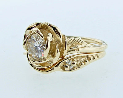 yellow-gold-moissanite-engagment-ring-wexford-jewelers