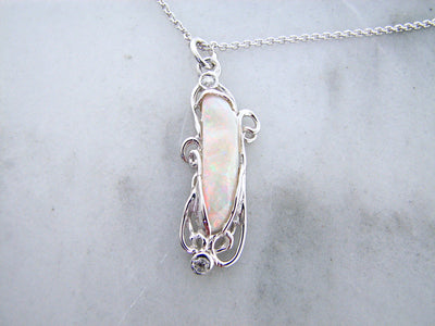 victorian-organic-opal-silver-necklace-wexford-jewelers