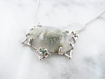 moss-agate-necklace-quartz-silver-pendant-wexford-jewelers