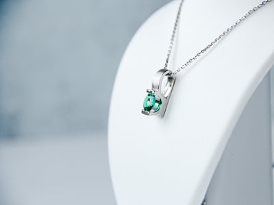2ct-lab-emerald-silver-necklace-pendant