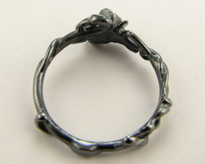 Black Silver Ring, Rose Garden