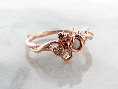 opal-rose-gold-diamond-ring-wexford-jewelers