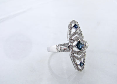 wexford-jewelers-blue-sapphire-diamond-antique-ring
