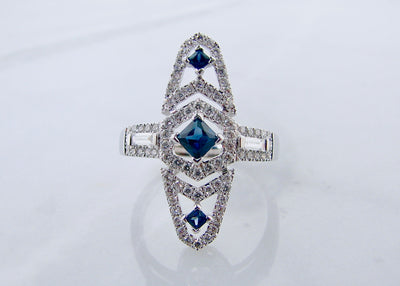 white-gold-diamond-sapphire-ring-vintage-wexford-jewelers