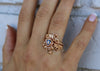 Diamond Rose Gold Wedding Ring Set, Jane Rose (Limited)