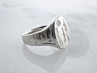 silver-signet-ring-forest-wexford-jewelers