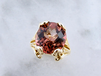 cranberry-tourmaline-18K-yellow-gold-wexford-jewelers