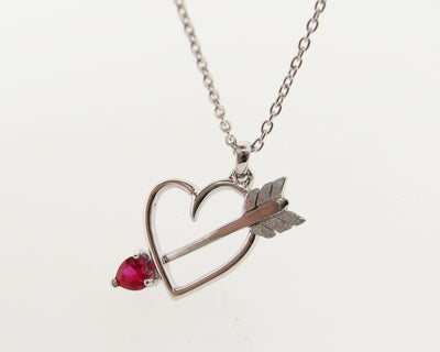 silver-heart-arrow-pink-gemstone-necklace-wexford-jewelers