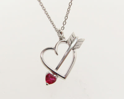 silver-heart-necklace-pink-gemstone-wexford-jewelers