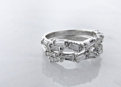 baguette-diamond-14K-white-gold-wedding-bands-wexford-jewelers