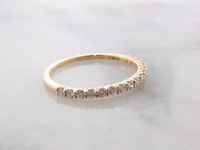 Yellow-Gold-Diamond-Stacking-Anniversary-Ring-Wexord-Jewelers