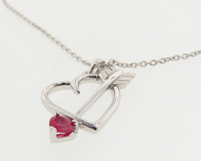 silver-red-gemstone-heart-arrow-necklace-wexford-jewelers