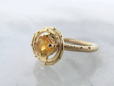 mexican-fire-opal-yellow-gold-ring-wexford-jeweler