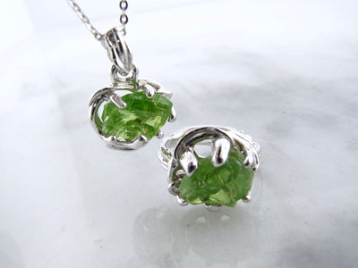 bird-nest-silver-pendant-ring-peridot-wexford-jewelers