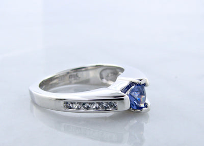 trillion-cut-tanzanite-silver-sapphire-ring-wexford-jewelers