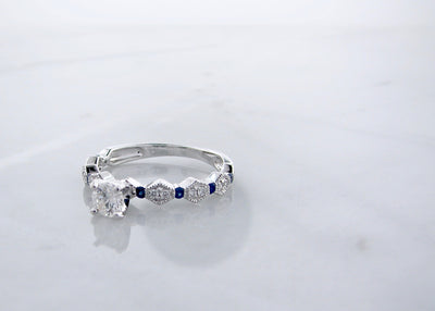 art-deco-white-gold-diamond-ring-blue-sapphire-wexford-jewelers
