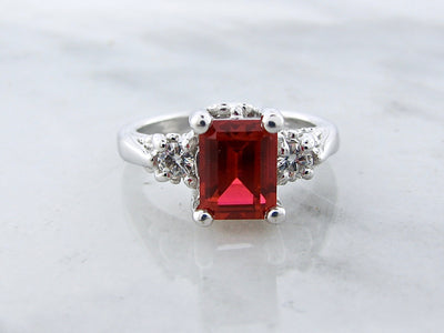 wexford-jewelers-emerald-cut-ruby-silver-ring-wexford-jewelers