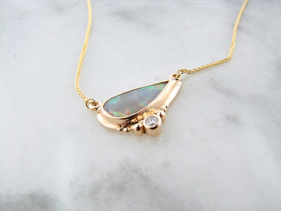 yellow-gold-opal-necklace-wexford-jewelers