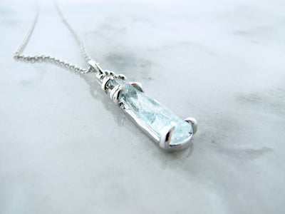 raw-aqua-silver-diamond-gemstone-necklace-wexford-jewelers