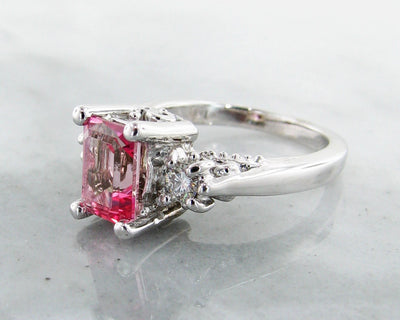 pink-gemstone-moissanite-silver-vintage-fashion-ring-wexford-jewelers