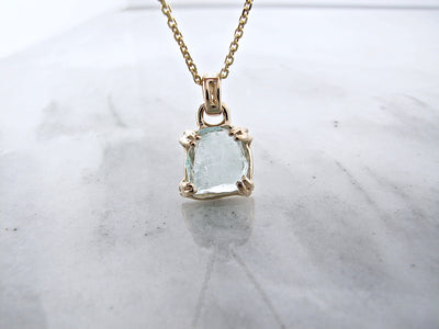 yellow-gold-raw-aqua-marine-pendant-necklace-wexford-jewelers