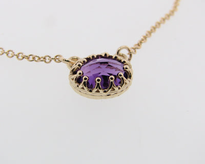 crow-yellow-gold-ova-shaped-amethyst-necklace-wexford-jewelers