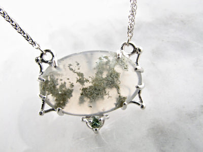 moss-sage-green-split-chain-necklace-wexford-jewelers