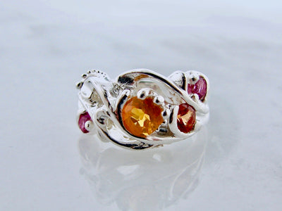 fire-opal-pink-topaz-silver-ring-wexford-jewelers