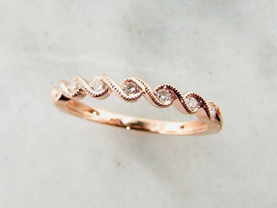 rose-gold-diamond-band-milgrain-wexford-jewelers