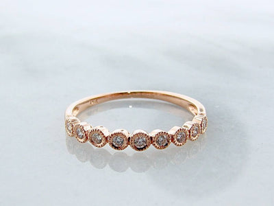rose-gold-diamond-milgrain-brilliant-cut-diamond-ring-wexford-jewelers