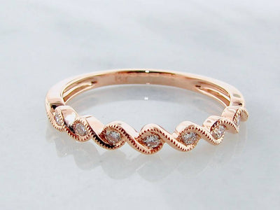 rose-gold-diamond-twist-milgrain-ring-wexford-jewelers