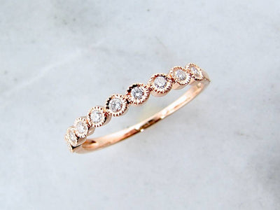 rose-gold-round-diamond-band-milgrain-wexford-jewelers