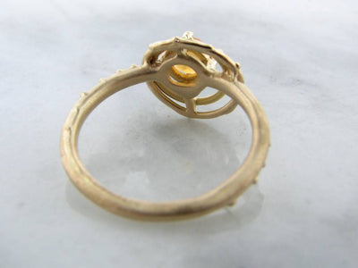 rustic-18k-yellow-gold-ring-wexford-jewelers