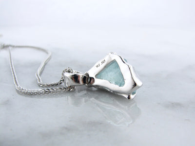 sterling-silver-raw-march-birthstone-pendant-wexford-jewelers