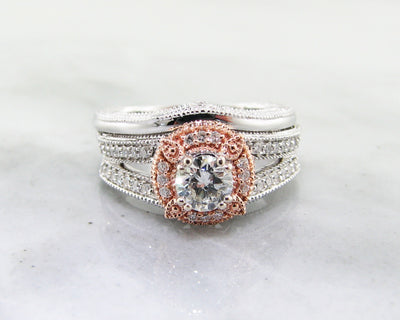 diamond-halo-engagement-ring-rose-white-gold-wexford-jewelers