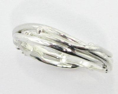 Silver Ring, Bird's Nest Band