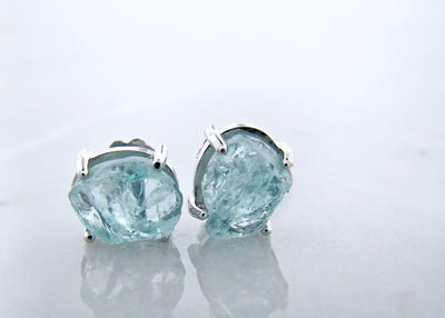 raw-aqumarine-silver-earrings-wexford-jewelers