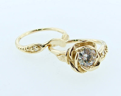 rose-shaped-moissanite-yellow-gold-ring-wexford-jewelers
