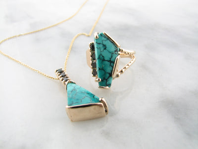 kingman-turquoise-ring-necklace-wexford-jewelers