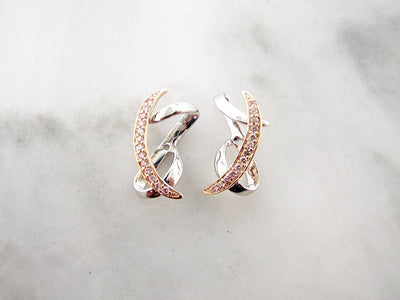 white-yellow-gold-diamond-earring-jacklets-wexford-jewelers