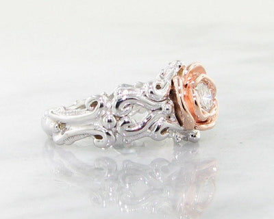 rose-diamond-ring-engagement-band-wexford-jewelers-band