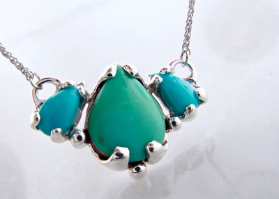silver-turquoise-three-stone-necklace-persian-wexford-jewelers